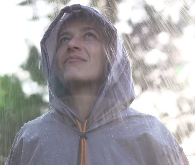 Flying Tent Rain Poncho