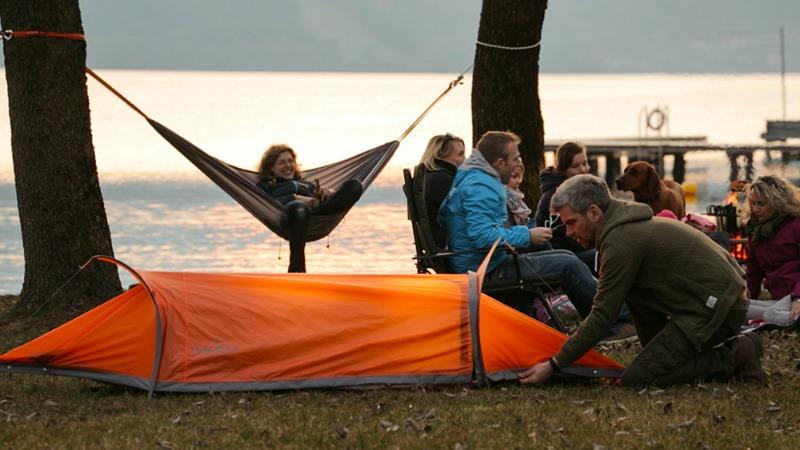 flying tent kickstarter camping