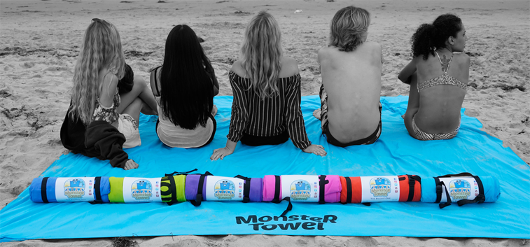 Successful online fundraising case study: Monster Towel 2.0