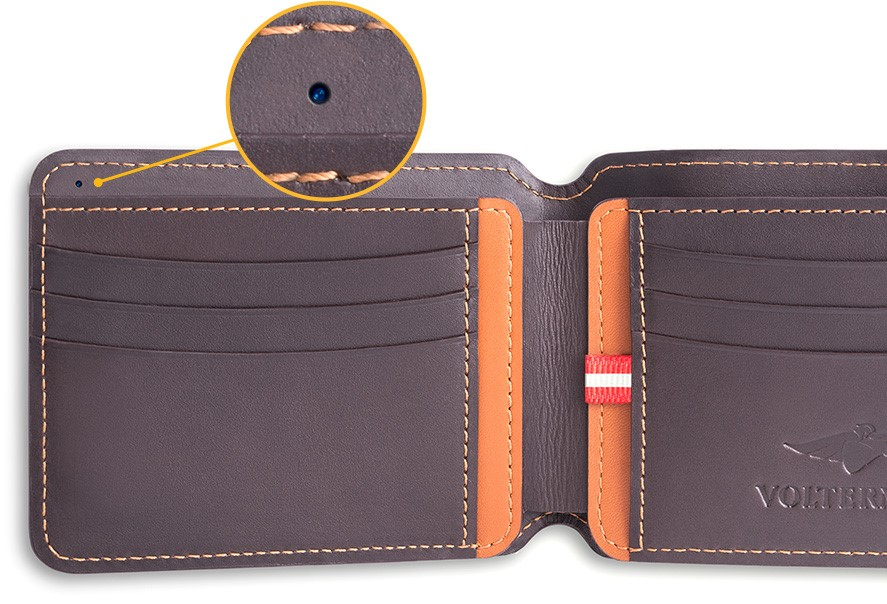 Volterman Smart Wallet with Built in Camera: Indiegogo Campaign