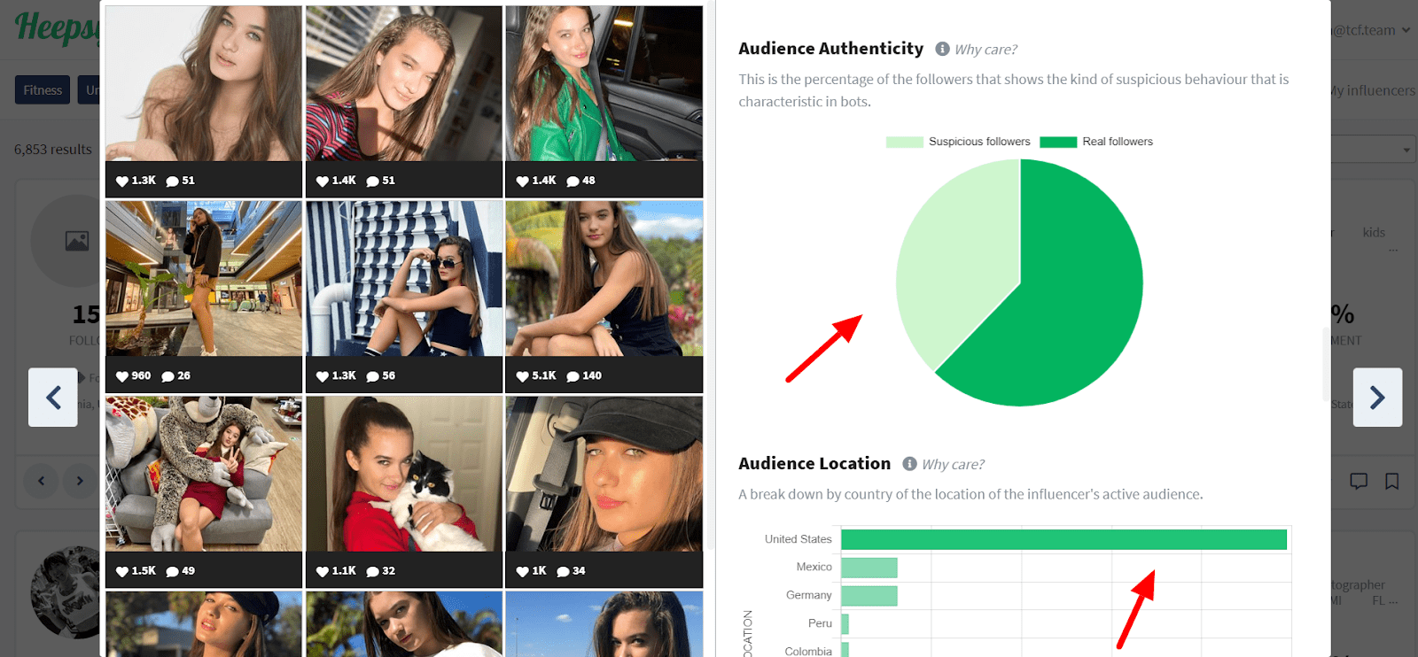 how to find instagram influencers with heepsy