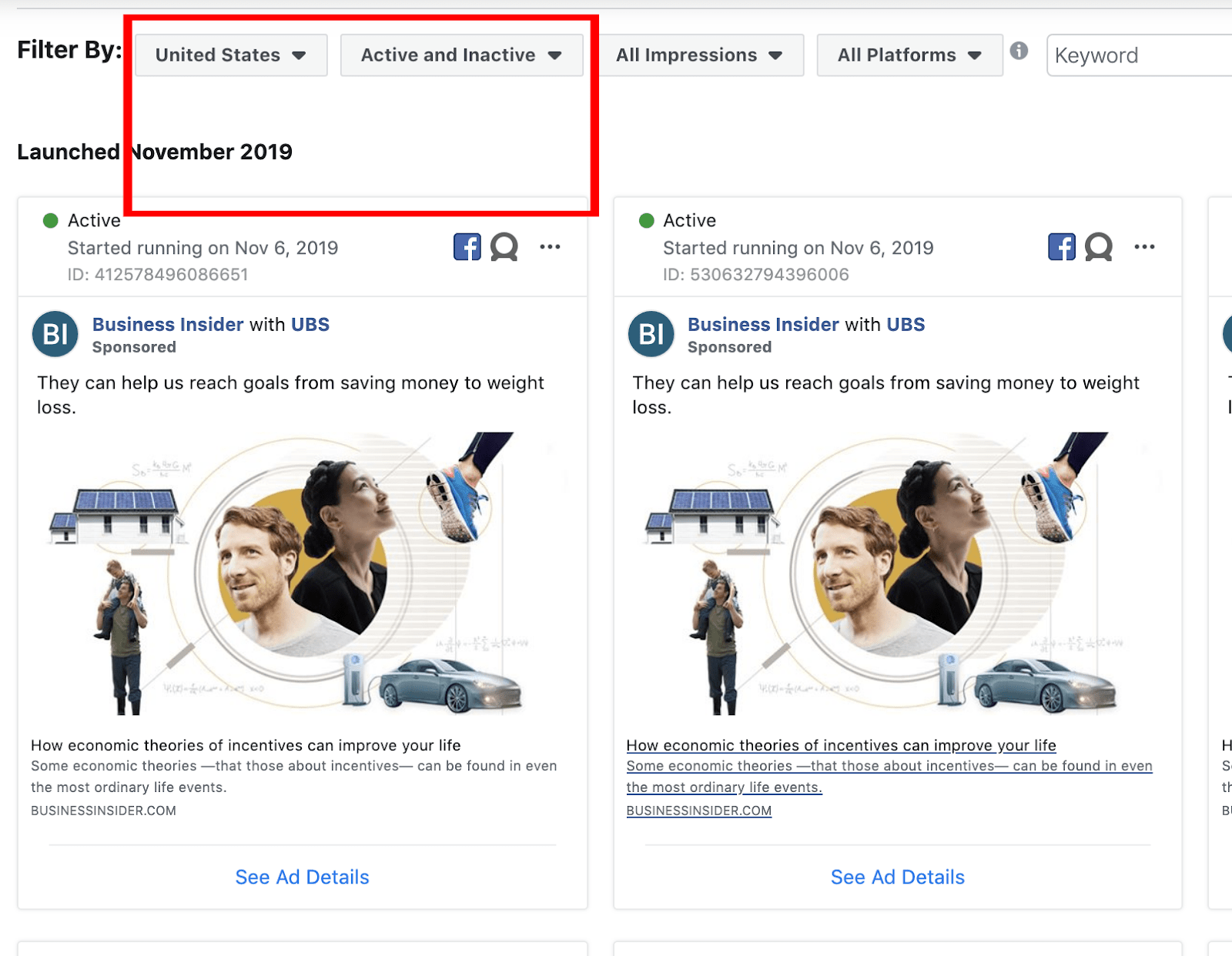 find competitors facebook ads