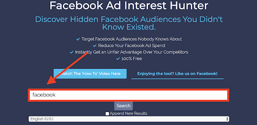 Facebook Ad Interest Hunter
