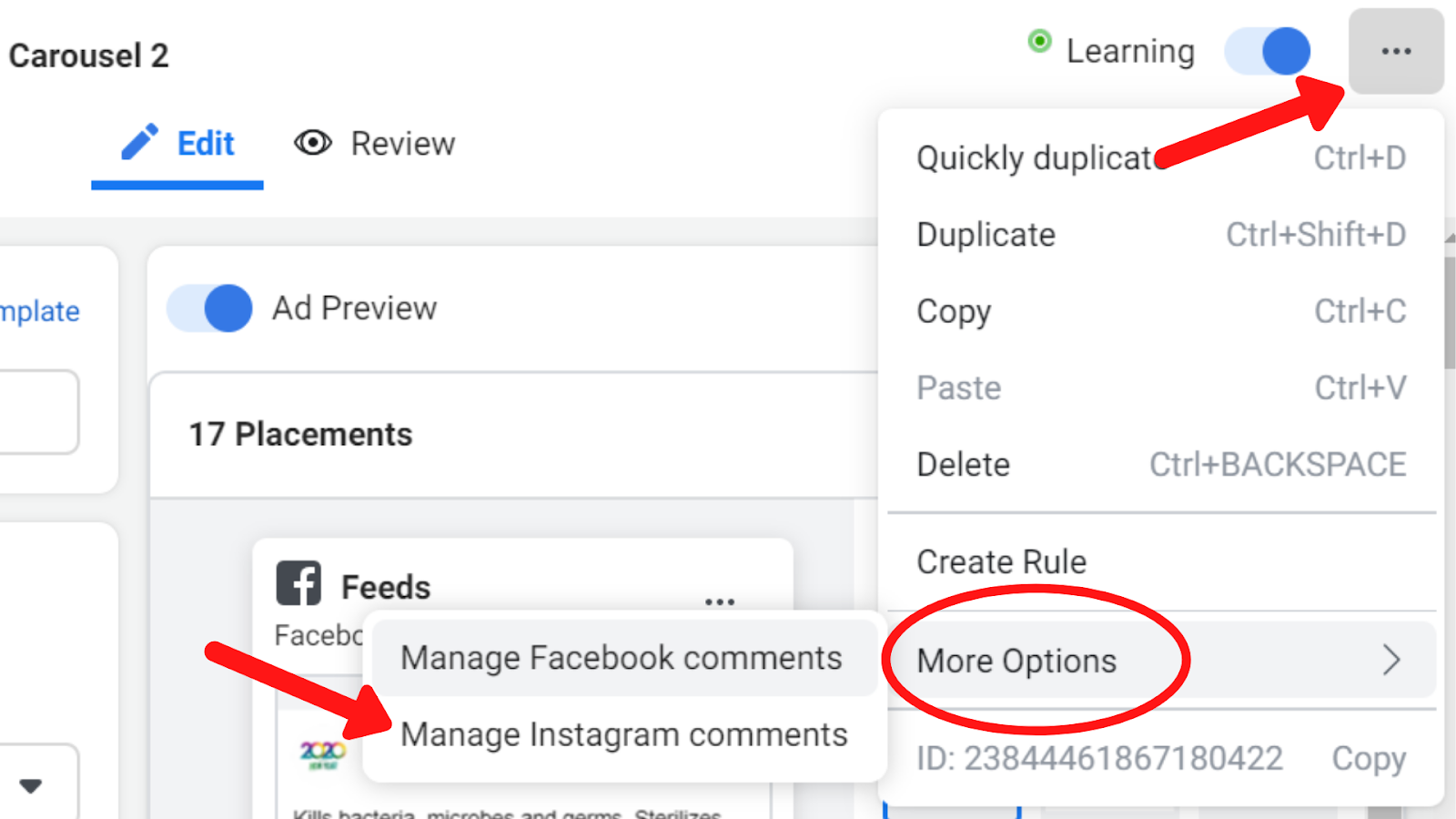 Manage Your Instagram Ads' Comments Without Having an Instagram Page