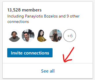 Linkedin direct message