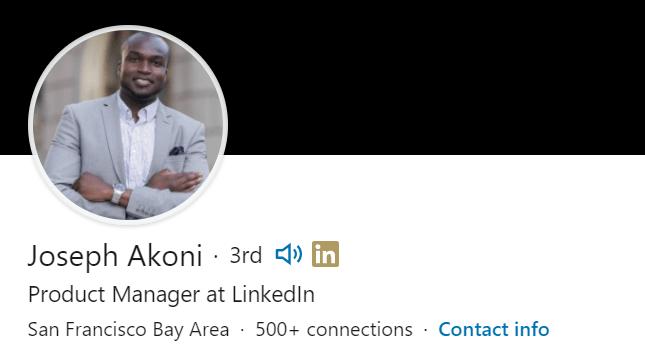 LinkedIn name audio clip