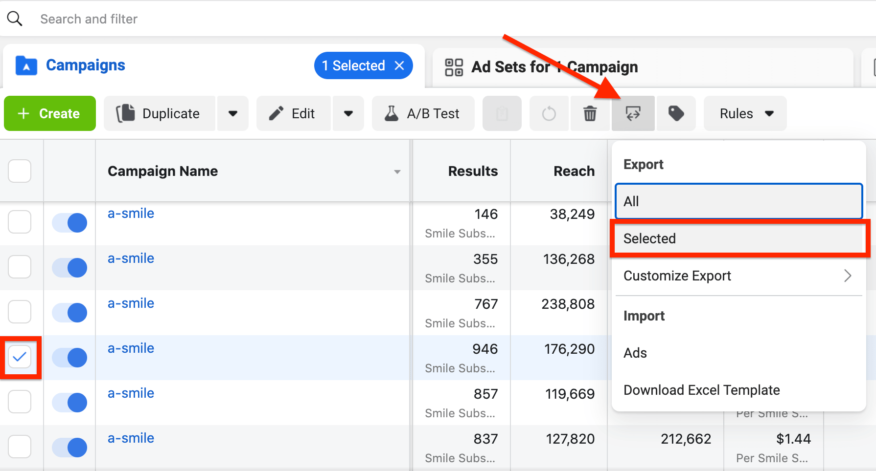 An Alternative Use Case to Export/Import Feature in Facebook Ads Manager