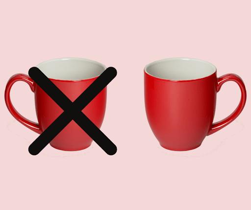 Mug handle example