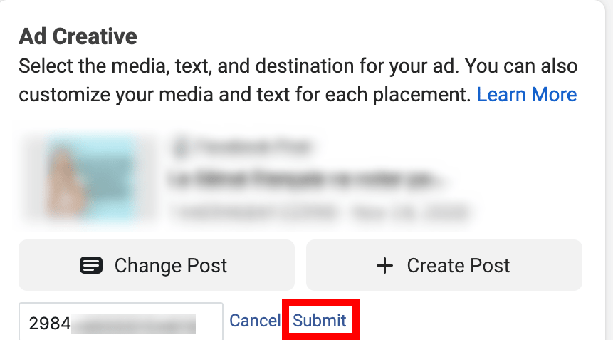 Create a campaign but set the location in another country