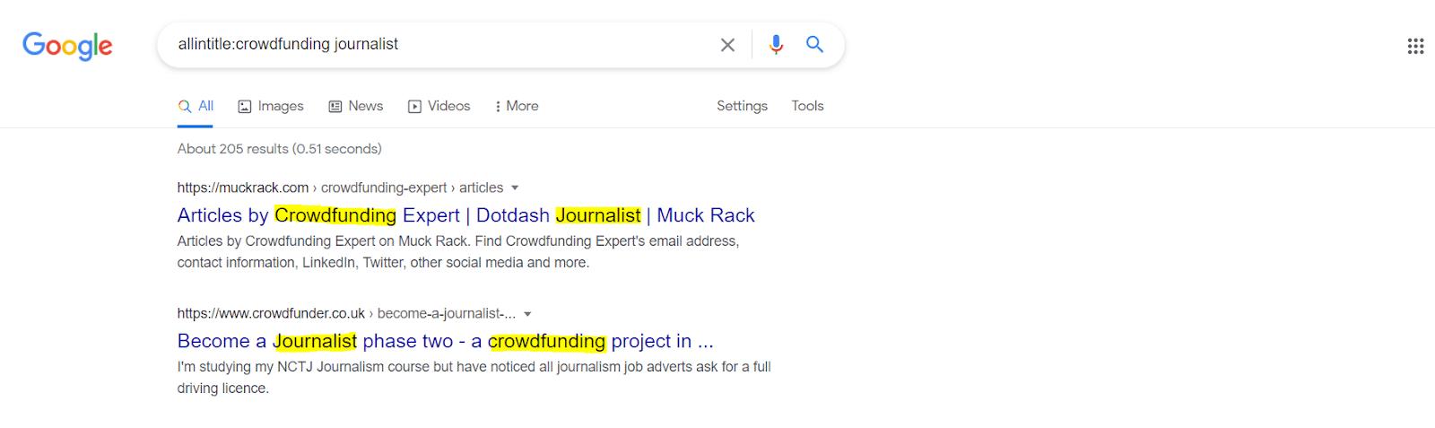 crowdfunding journalist