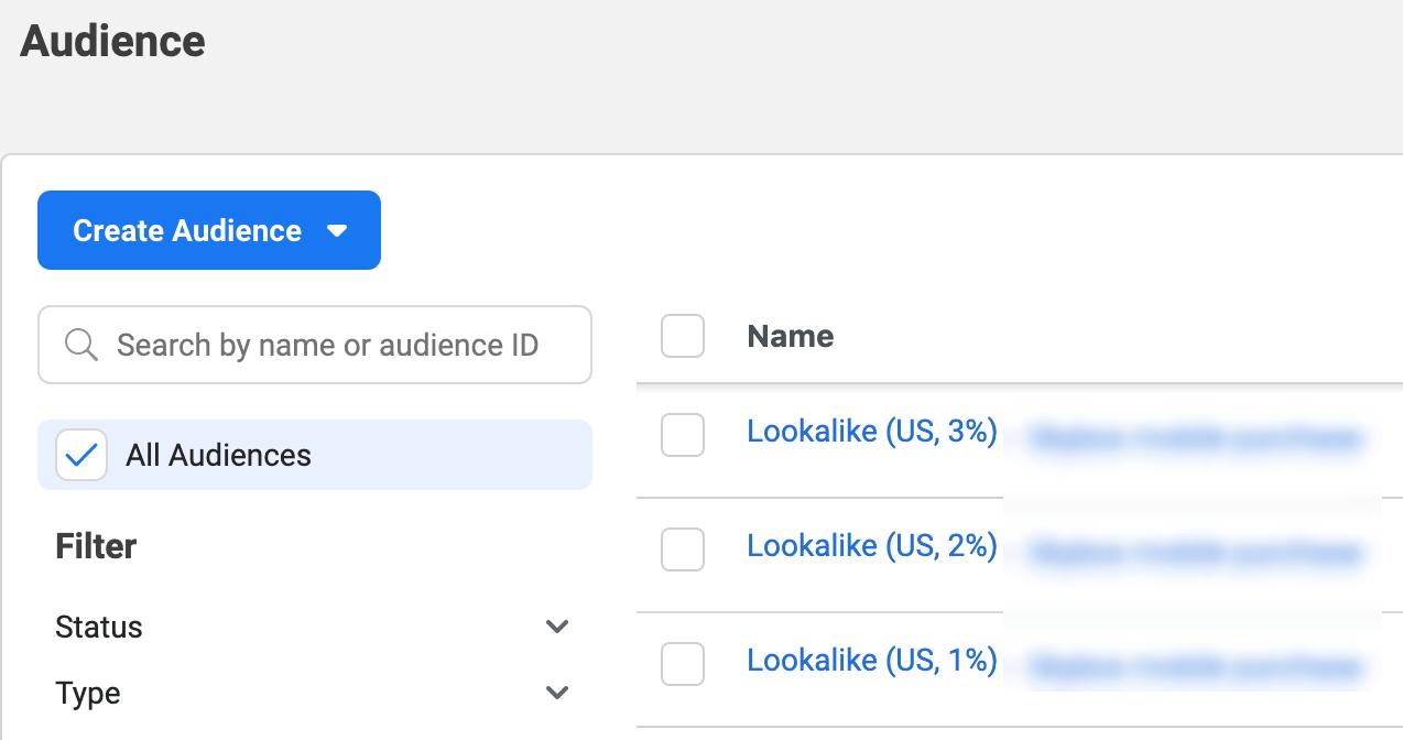 fb audience