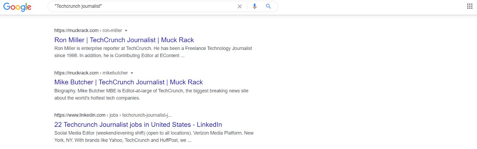 journalist research