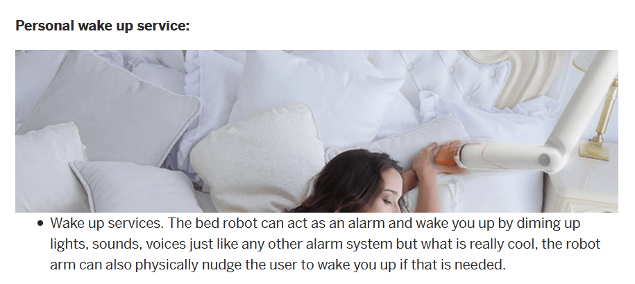 personal wakeup service