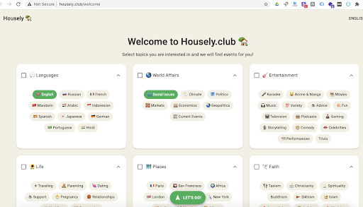 Housely.Club_interests