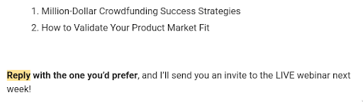 email marketing_reply